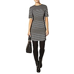 Dorothy Perkins - Luxe black and white stripe dress