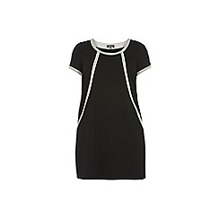 Dorothy Perkins - Billie & Blossom Curve black ponte shift dress