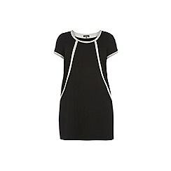Dorothy Perkins - Billie & Blossom Curve black ponte shift dress