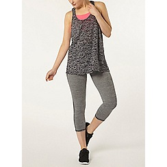 Dorothy Perkins - Dp active grey spacedye leggings