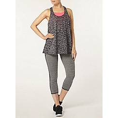 Dorothy Perkins - Dp active grey burnout urban spirit vest