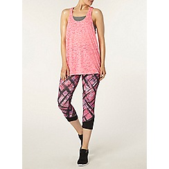 Dorothy Perkins - Dp active pink burnout 2 in 1 vest
