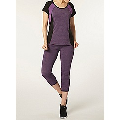 Dorothy Perkins - Dp active purple spacedye leggings