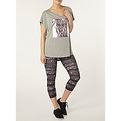 Dorothy Perkins - Dp active galaxy 7/8 leggings