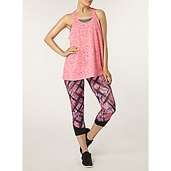 Dorothy Perkins - Dp active pink graffiti leggings