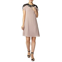 Dorothy Perkins - Showcase mink lace detail tunic dress