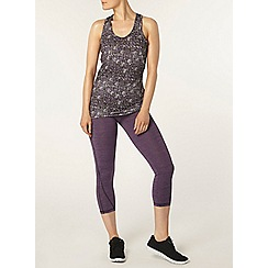 Dorothy Perkins - Dp active black galaxy print vest