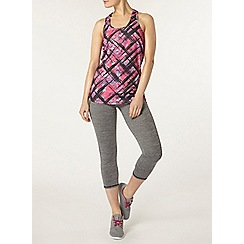 Dorothy Perkins - Dp active pink graffiti active vest
