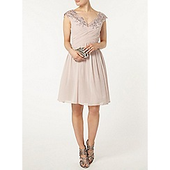 Dorothy Perkins - Showcase mink bardot prom dress