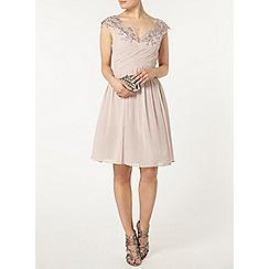 Dorothy Perkins - Showcase mink bardot prom dress