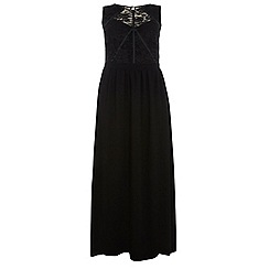 Dorothy Perkins - Showcase curve black lace body maxi dress