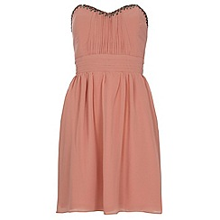 Dorothy Perkins - Showcase pink bandeau prom dress