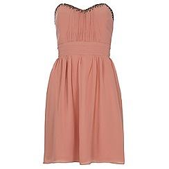 Dorothy Perkins - Showcase pink bandeau prom dress