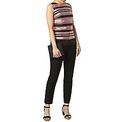 Dorothy Perkins - Luxe pink organza stripe shell top