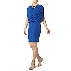 Dorothy Perkins - Billie black label cobalt batwing dress