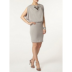 Dorothy Perkins - Billie black label grey bawting dress