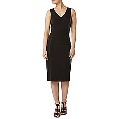 Dorothy Perkins - Luxe black v-neck bodycon dress