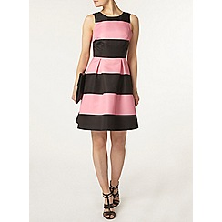 Dorothy Perkins - Luxe pink and black prom dress