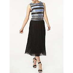 Dorothy Perkins - Luxe blue stripe organza shell top