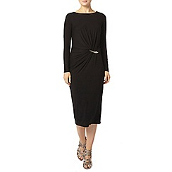 Dorothy Perkins - Luxe black bar detail dress