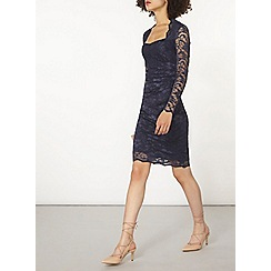 Dorothy Perkins - Scarlett b navy lace megan dress
