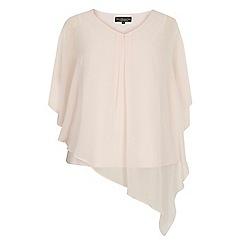 Dorothy Perkins - Billie curve blush chiffon overlay blouse