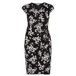 Dorothy Perkins - Billie curve mono butterfly print dress