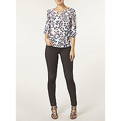 Dorothy Perkins - Billie and blossom ivory butterfly trim blouse