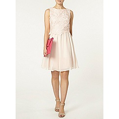 Dorothy Perkins - Showcase blush melanie prom dress