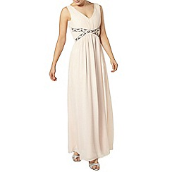 Dorothy Perkins - Showcase blush samia maxi dress