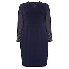 Dorothy Perkins - Showcase navy cara bodycon dress