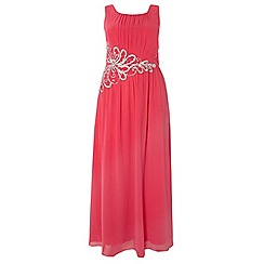 Dorothy Perkins - Showcase curve pink rose maxi dress