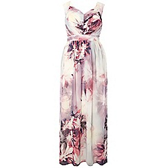 Dorothy Perkins - Showcase curve floral yve maxi dress