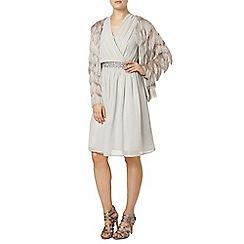 Dorothy Perkins - Luxe mink tassel flapper jacket