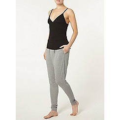 Dorothy Perkins - Loungewear black camisole top