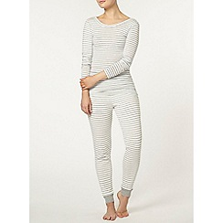 Dorothy Perkins - Loungewear stripe longline t-shirt