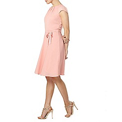 Dorothy Perkins - Billie and blossom pink chiffon soft dress