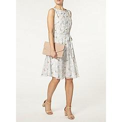 Dorothy Perkins - Billie and blossom grey floral dress