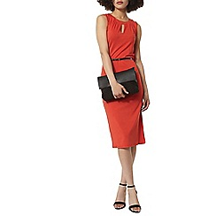 Dorothy Perkins - Billie and blossom orange notch neck midi dress