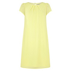 Dorothy Perkins - Billie and blossom yellow chiffon shift dress
