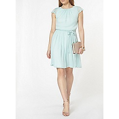 Dorothy Perkins - Billie and blossom mint fit and flare dress