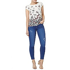 Dorothy Perkins - Billie and blossom ivory butterfly shell top