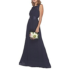 Dorothy Perkins - Showcase tall navy 'natalie' maxi dress