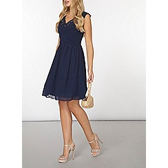 Dorothy Perkins - Showcase navy bella prom dress