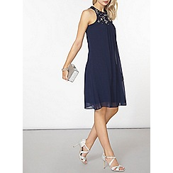 Dorothy Perkins - Showcase navy trape dress