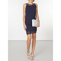 Dorothy Perkins - Billie and blossom navy trpeeze dress