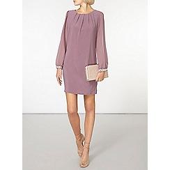 Dorothy Perkins - Billie black label grape embellished cuff dress