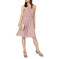 Dorothy Perkins - Showcase pink jolie twist neck prom dress