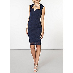 Dorothy Perkins - Scarlett b navy lauren bodycon dress
