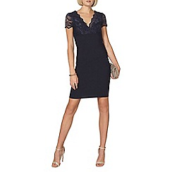Dorothy Perkins - Scarlett b navy chloe bodycon dress